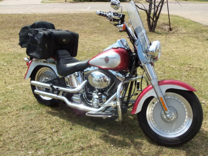 2004 Harley Davidson Fat Boy f wallpaper