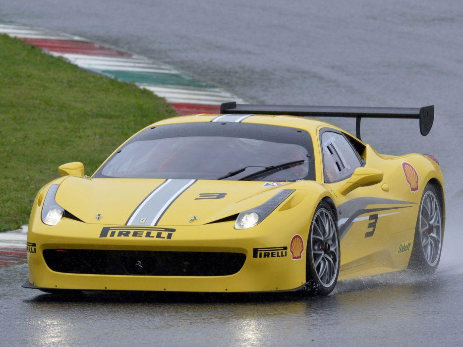 2014 Ferrari 458 Challenge Evoluzione supercar race racing       g wallpaper