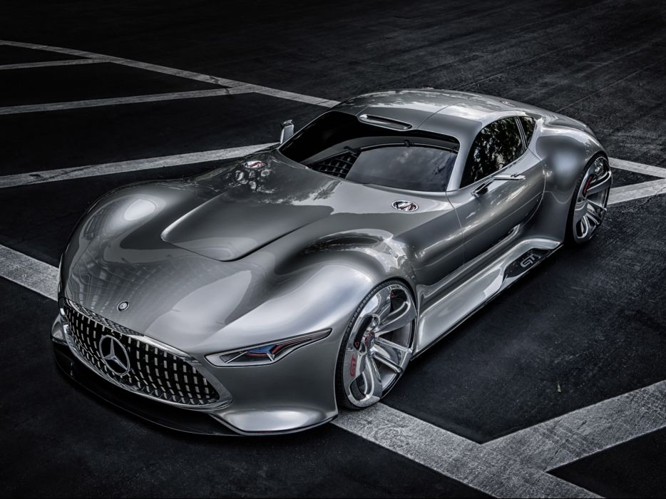 2014 Mercedes Benz AMG Vision Gran Turismo supercar       g wallpaper