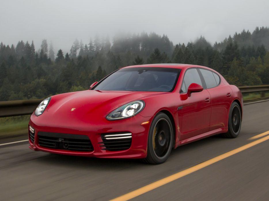 2014 Porsche Panamera Turbo US-spec (970)         g wallpaper