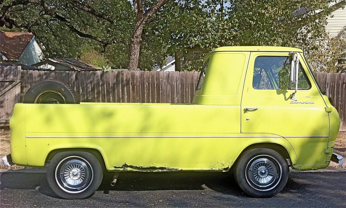 Ford Flat-Nose Econoline Pickup classic   r wallpaper
