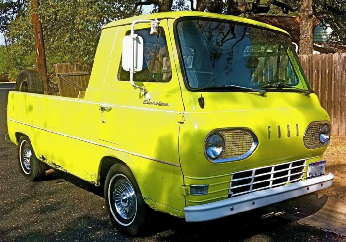 Ford Flat-Nose Econoline Pickup classic f wallpaper