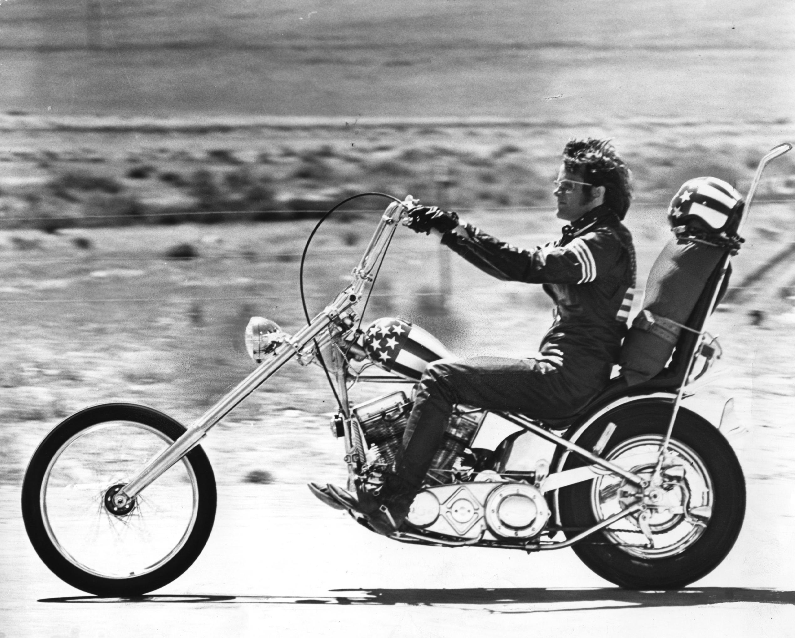 Harley Davidson Chopper Biker Custom Tuning Wallpaper