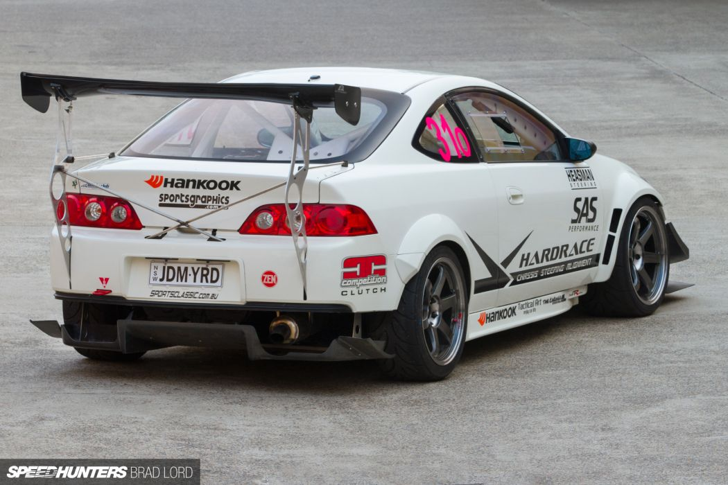 HONDA JDMyard K24 Turbo DC5R tuning race racing w wallpaper