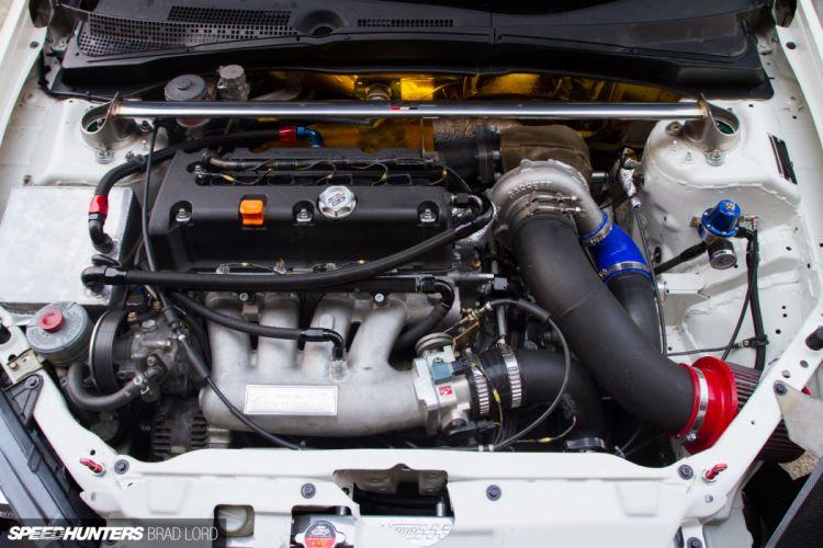 HONDA JDMyard K24 Turbo DC5R tuning race racing engine f wallpaper