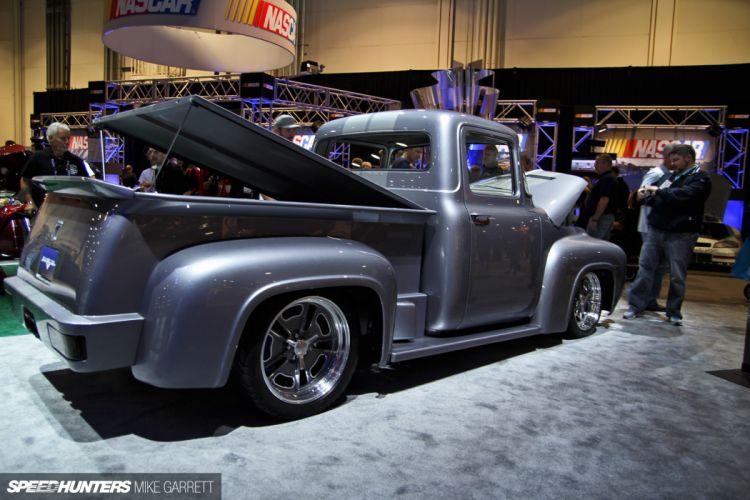 lowrider custom retro ford pickup hot rod rods d wallpaper