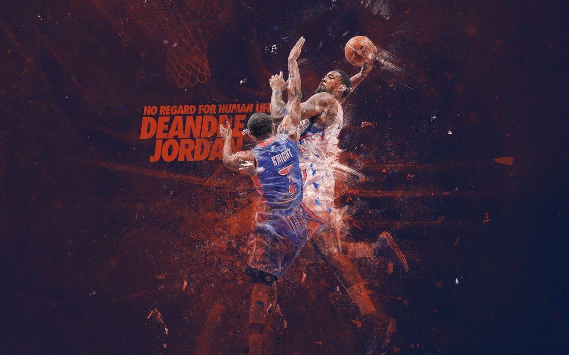 brandon knight Deandre Jordan basketball nba wallpaper