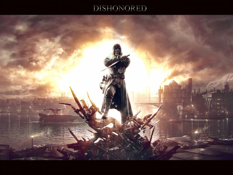 Dishonored Warrior Games fantasy       d wallpaper