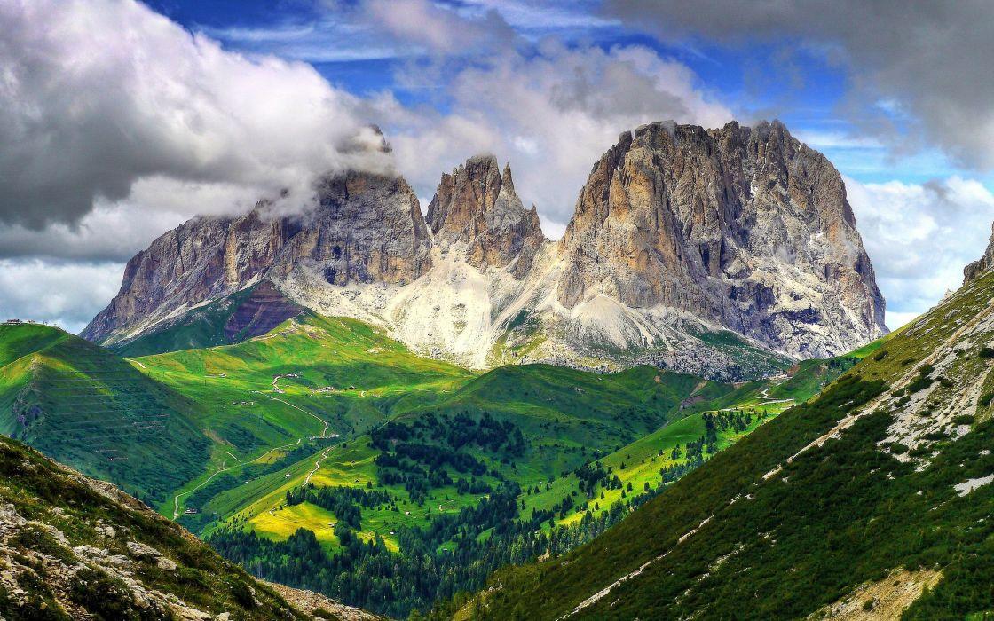 Dolomites Italy wallpaper