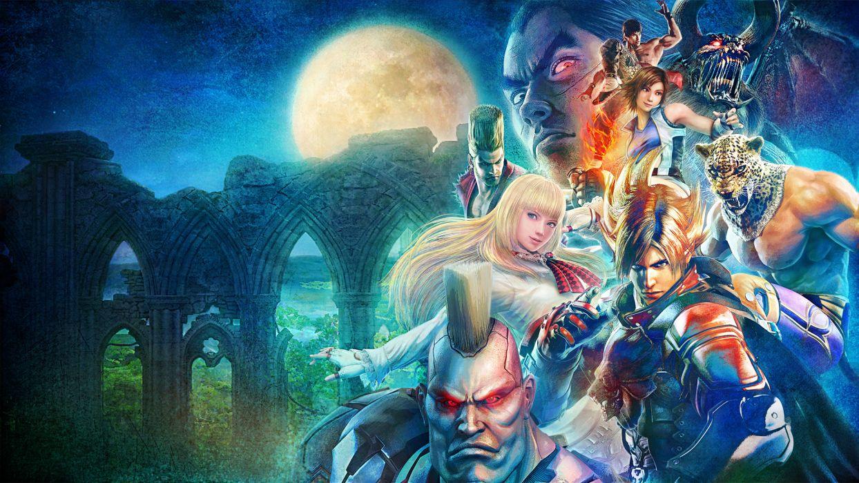 Tekken Warrior fantasy wallpaper
