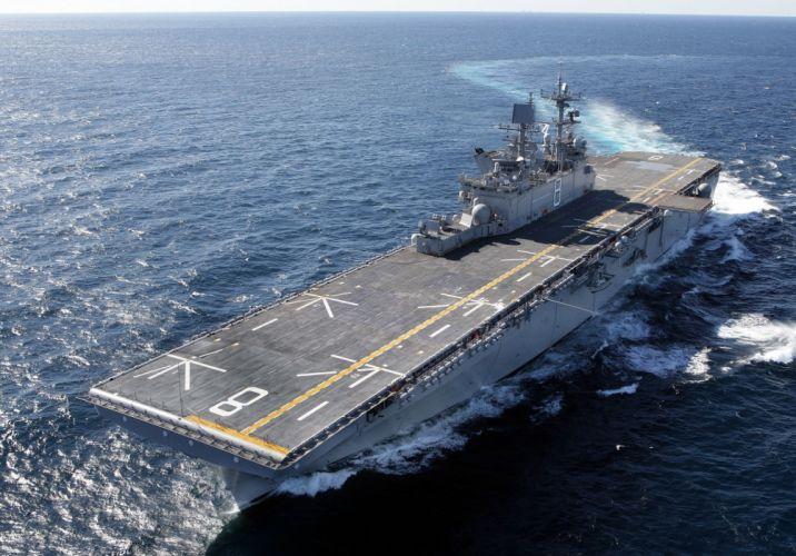 UDC uss makin island ocean aircraft carrier military wallpaper