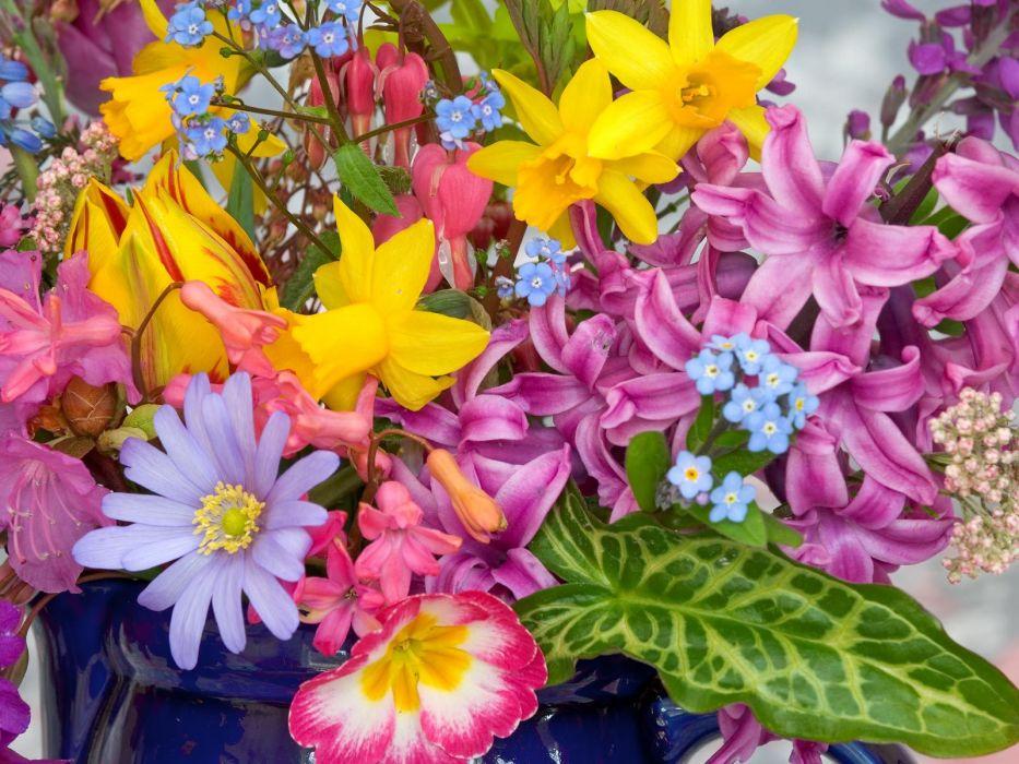 Flower bouquet          h wallpaper