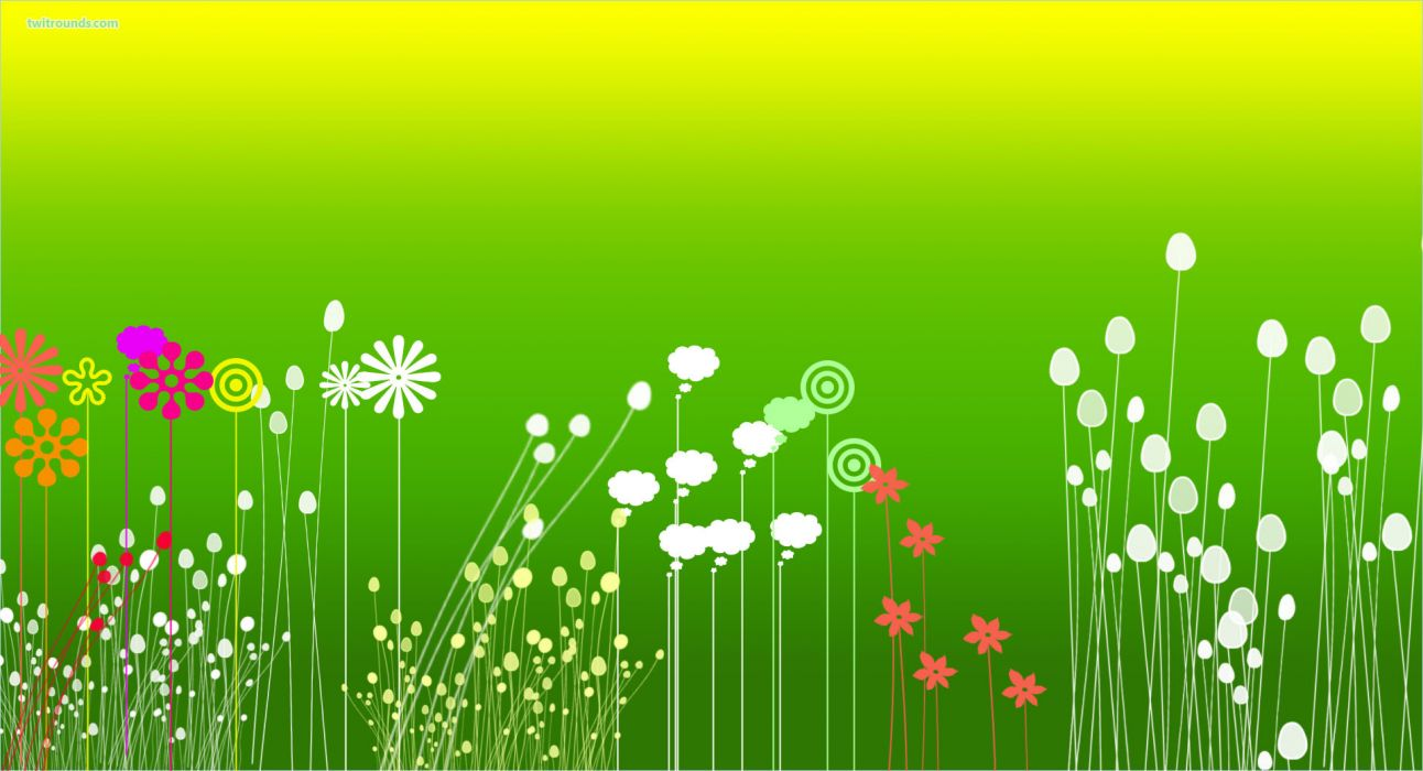 Flower Garden  rw wallpaper