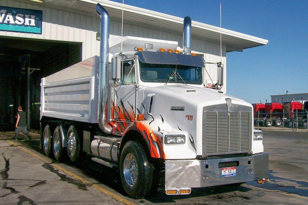 Kenworth T800 Dump Truck Wallpaper 2376x1587 176848