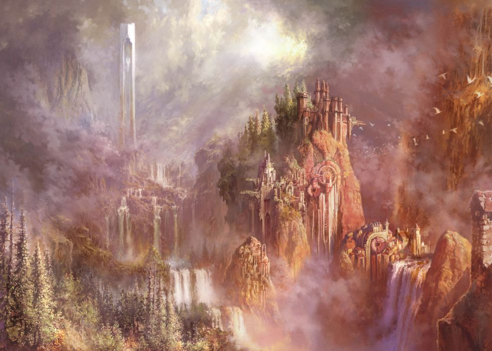 Aion The Tower of Eternity fantasy anime d wallpaper