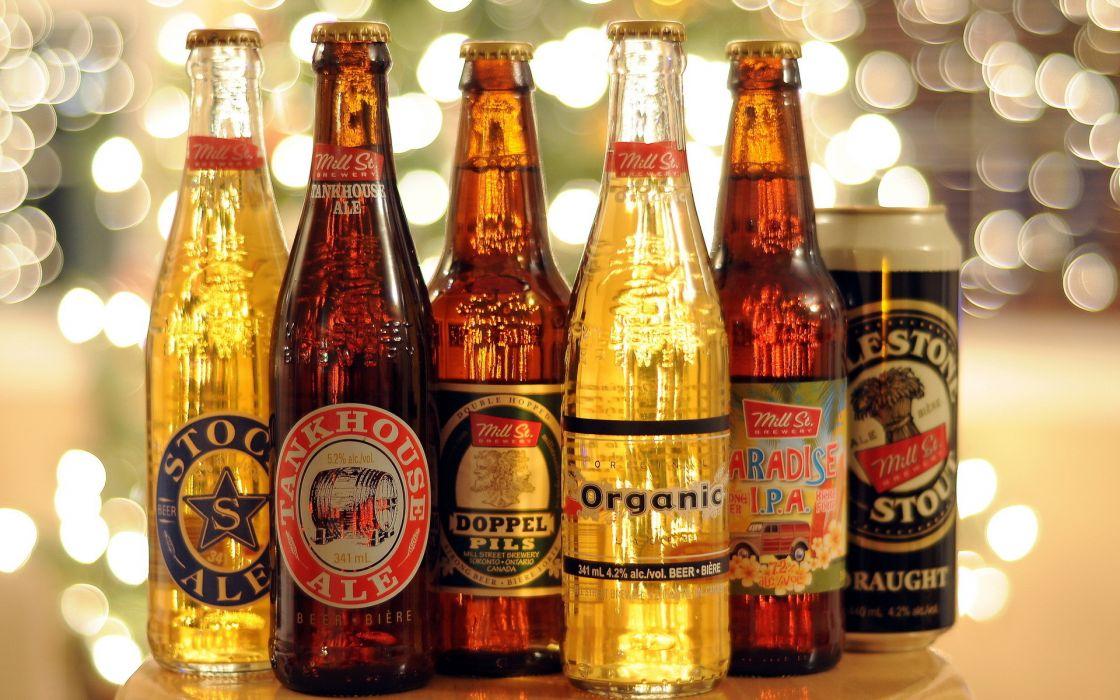 beer bottles wallpaper