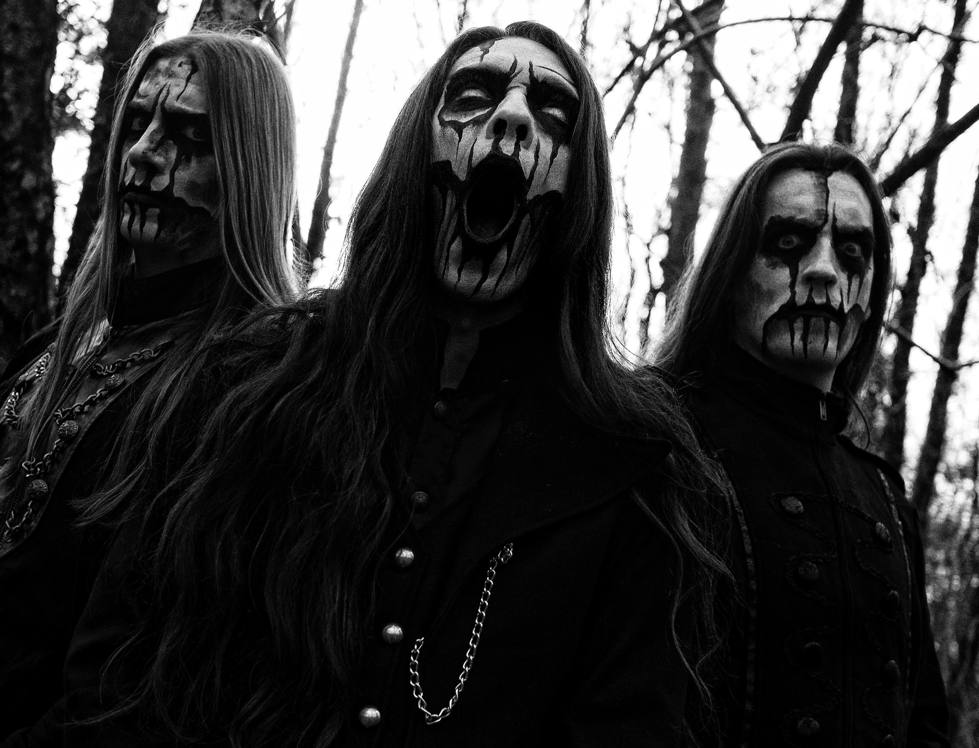 Black Metal Art Forest