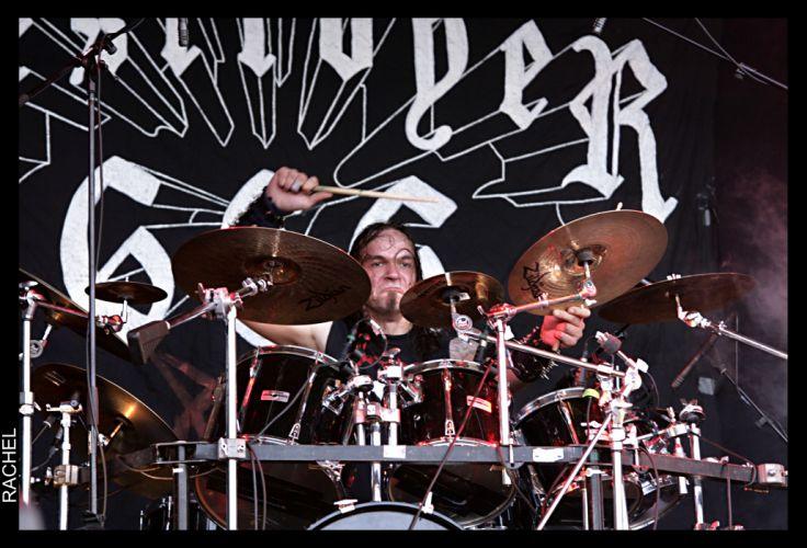DESTROYER 666 heavy metal thrash concert drums g wallpaper