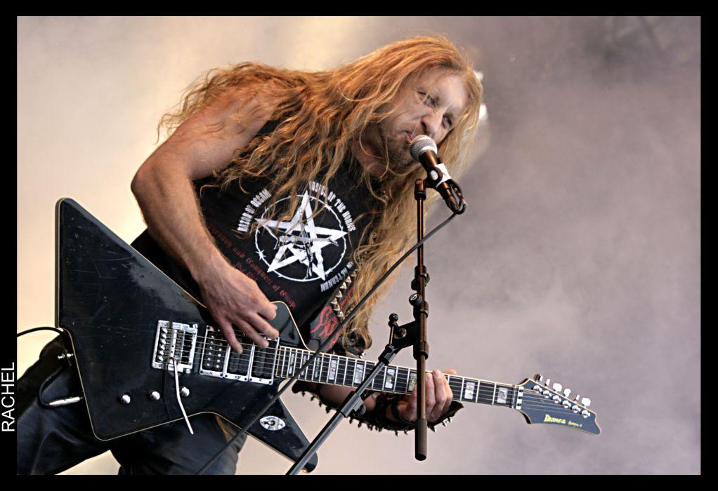 DESTROYER 666 heavy metal thrash concert guitar  f wallpaper