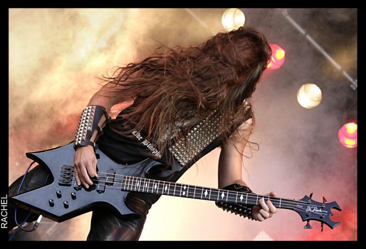 DESTROYER 666 heavy metal thrash concert guitar gs wallpaper