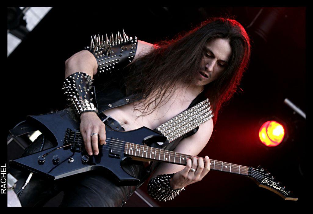 DESTROYER 666 heavy metal thrash concert guitar  r wallpaper