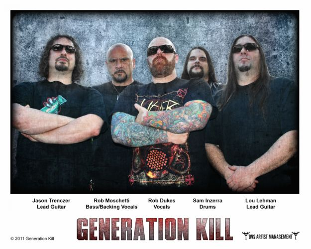 GENERATION KILL thrash metal heavy poster f wallpaper