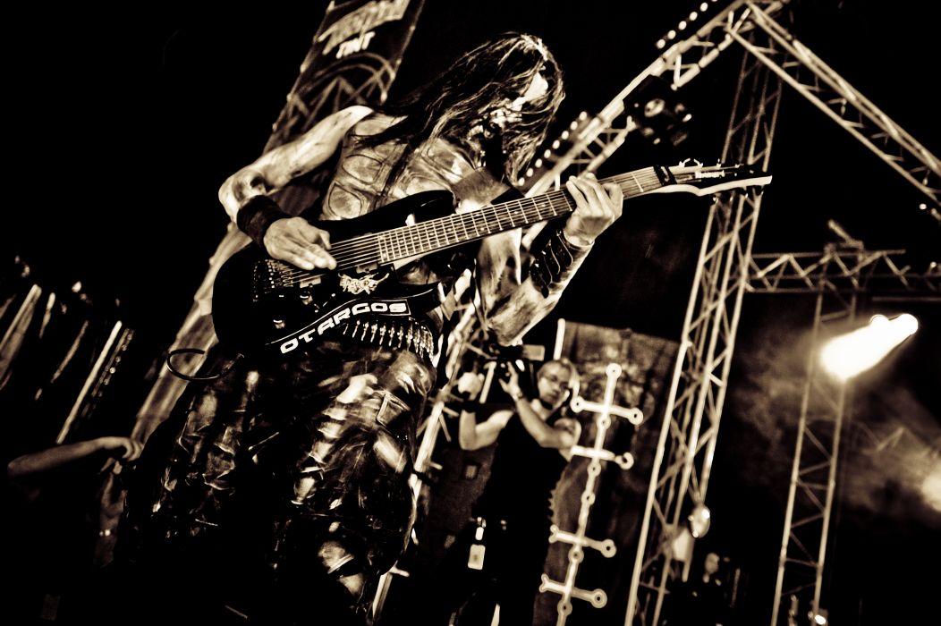 OTARGOS black metal heavy concert guitar  f wallpaper