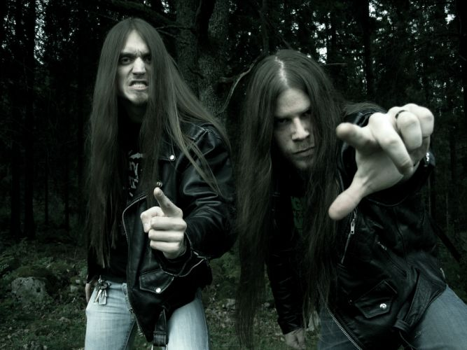 RIMFROST black metal heavy f wallpaper