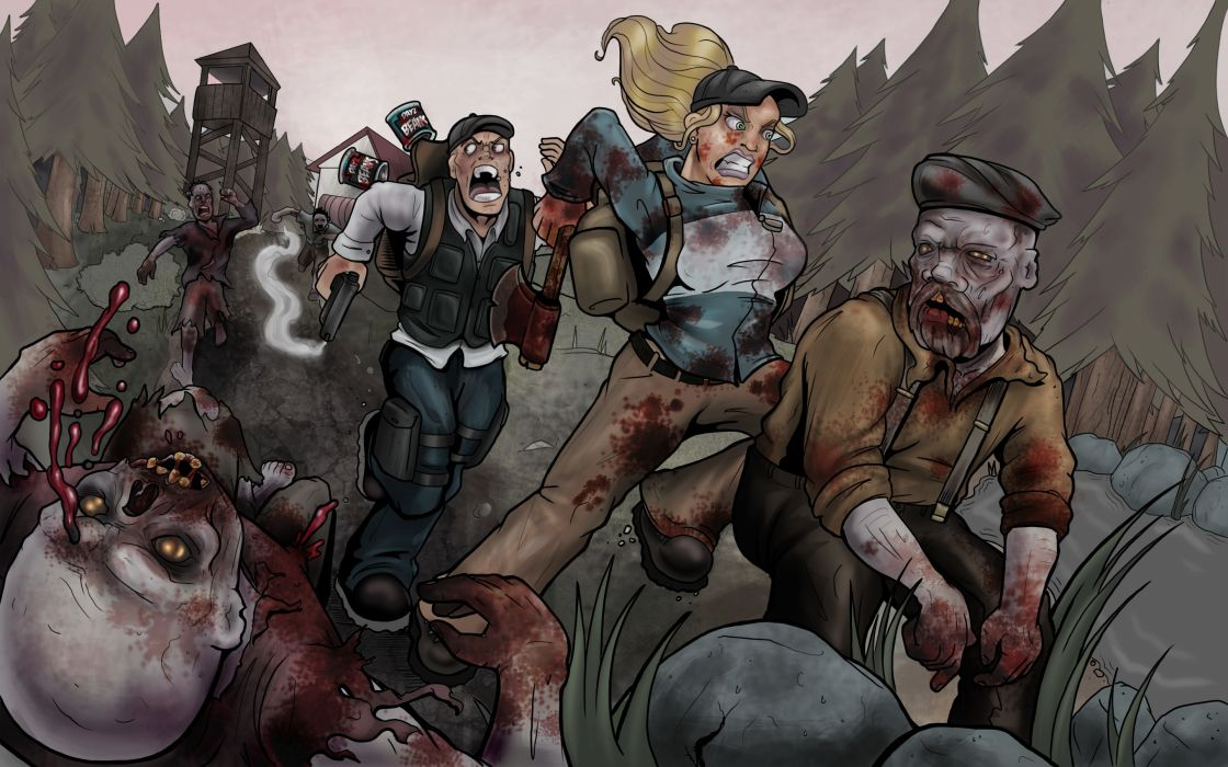 Dayz  art  people  zombies  drawing dark horror blood      g wallpaper