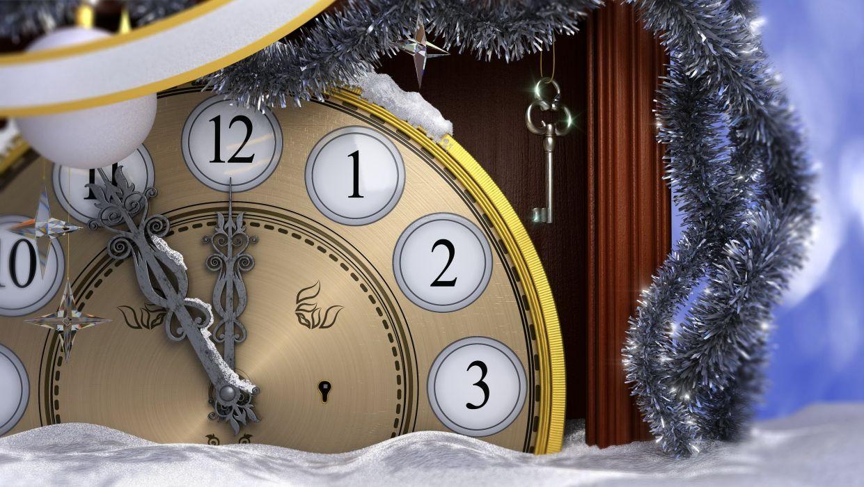 Holidays Christmas New year wallpaper