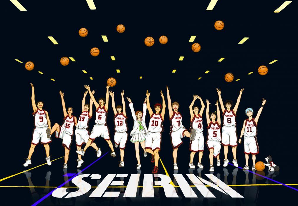 Kuroko no Basket Seirin High wallpaper