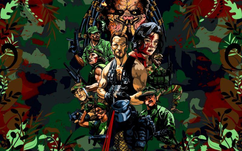 Predator Arnold team wallpaper