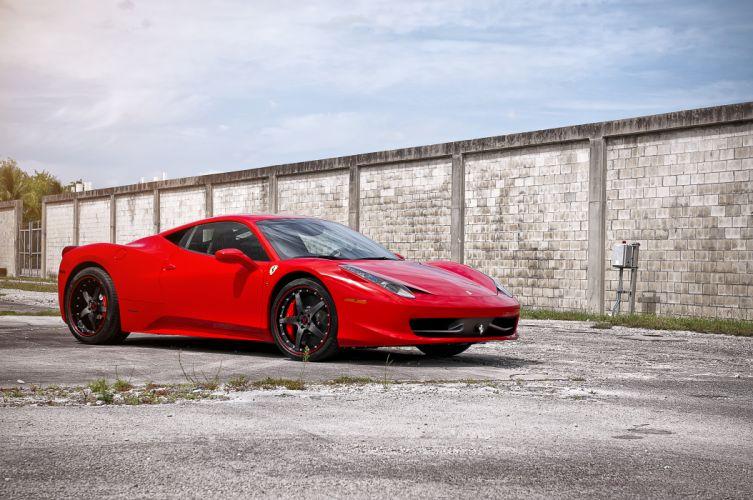 360 Ferrari 458 wallpaper