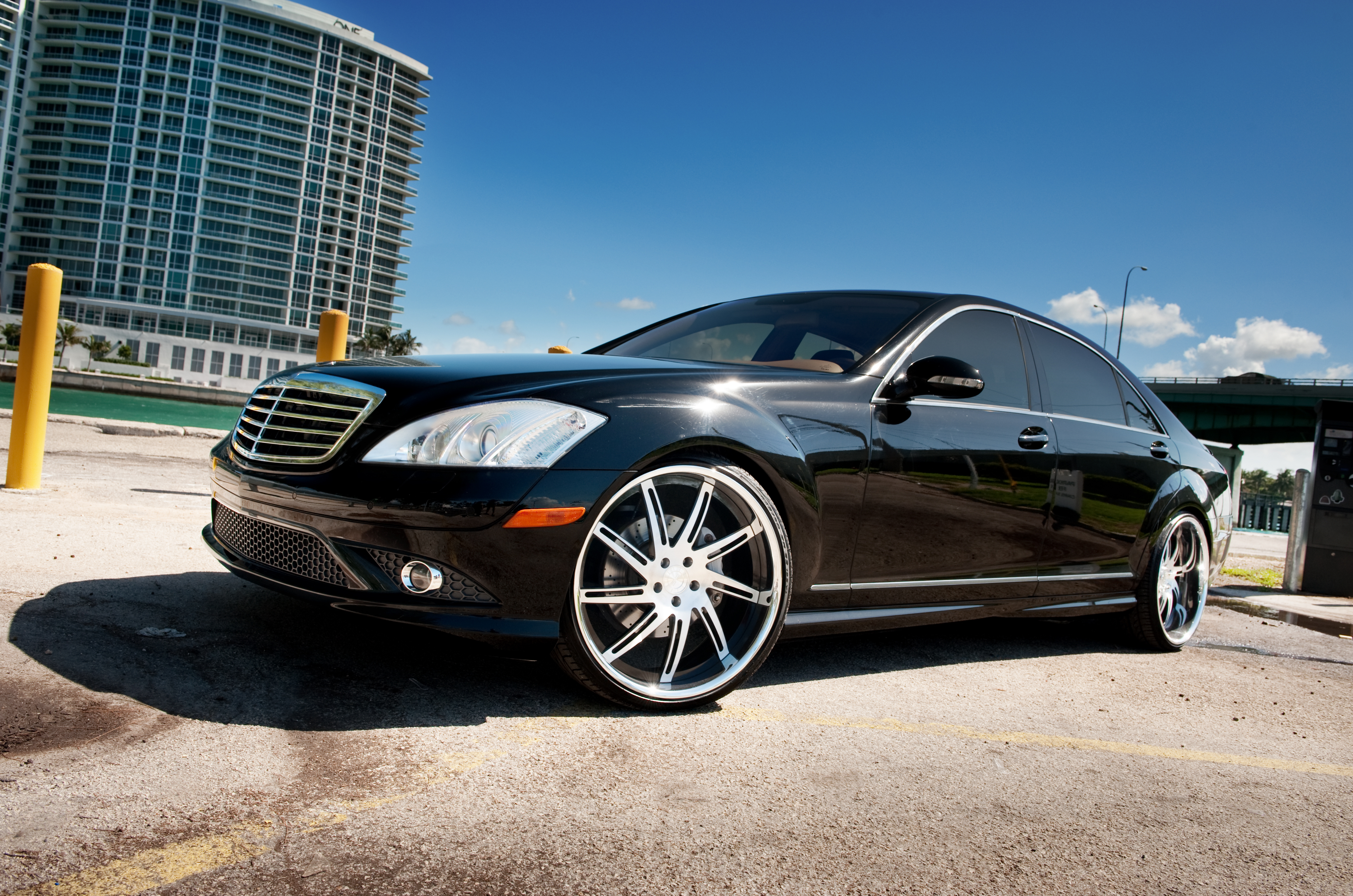 System Forged One Off On Mercedes S550 Wallpaper