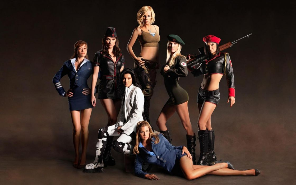 command and conquer cosplay GIRLS WITH GUNS weapon gun girls girl sexy babe   gk wallpaper