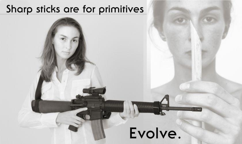 GIRLS WITH GUNS weapon gun girls poster w wallpaper