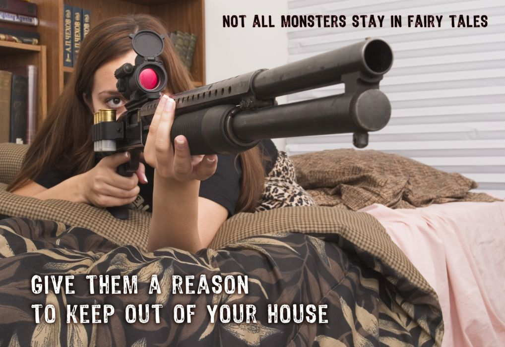 GIRLS WITH GUNS weapon gun girls poster   t wallpaper