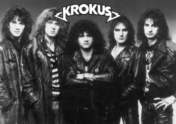 KROKUS heavy metal f wallpaper