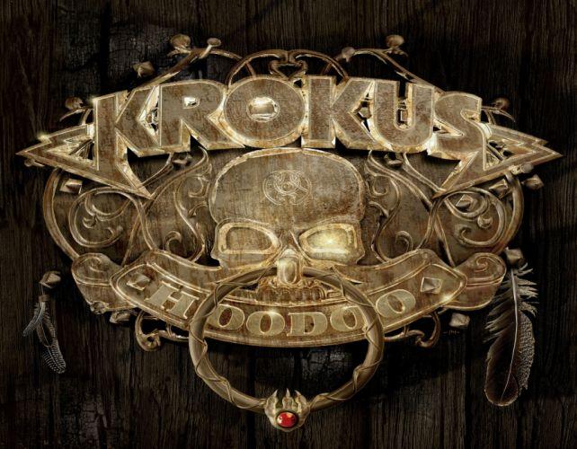 KROKUS heavy metal dark skull tr wallpaper