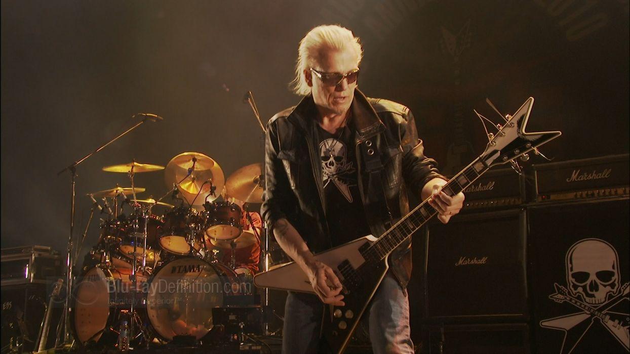 Michael Schenker Group Heavy Metal Concert Guitar T