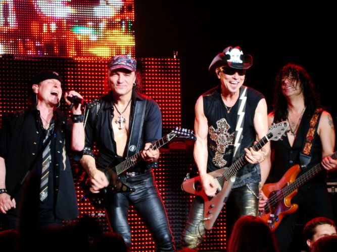 SCORPIONS heavy metal concert guitar u wallpaper