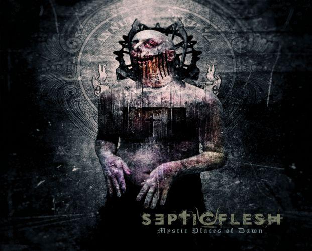 SEPTICFLESH death metal heavy dark skull horror d wallpaper