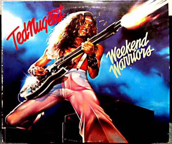 TED NUGENT hard rock classic rw wallpaper