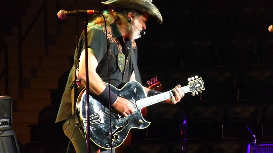 TED NUGENT hard rock classic concert guitar hy wallpaper