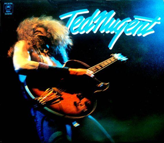 TED NUGENT hard rock classic concert guitar ul wallpaper