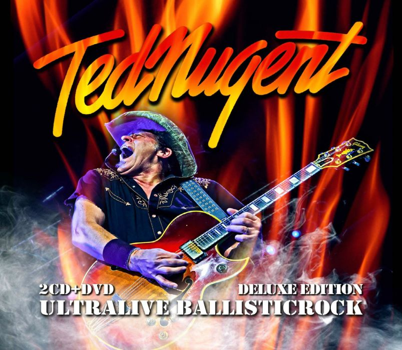 TED NUGENT hard rock classic poster guitar    e wallpaper