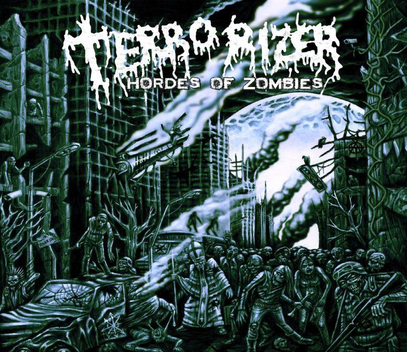 TERRORIZER death metal grindcore heavy dark zombie apocalyptic     f wallpaper