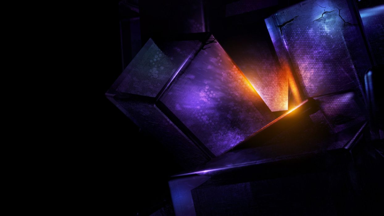 light render abstract wallpaper