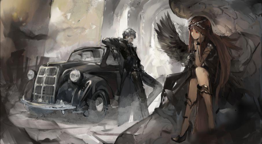 original car kureta wings wallpaper