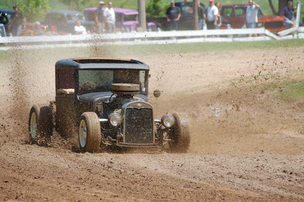 race spectators hot rod car track retro dir racing retro rods wallpaper